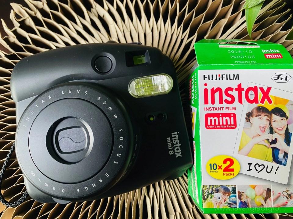 caratteristiche Instax mini8 Fujifilm - ricariche cartucce stampa