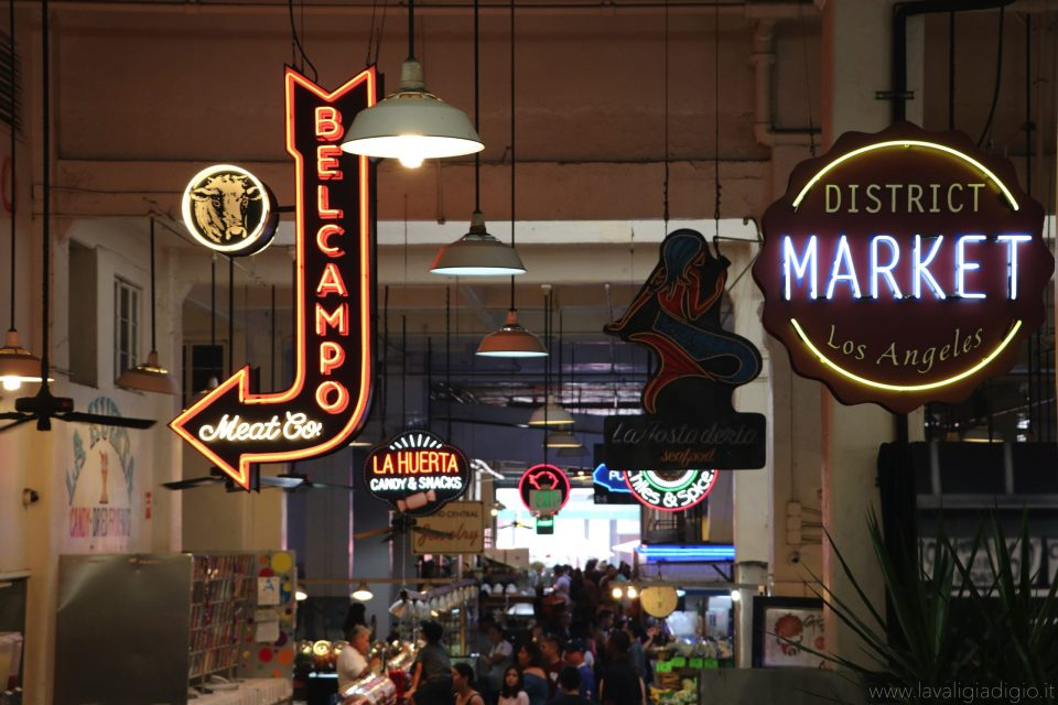 Los Angeles low cost mangiare a grand central market