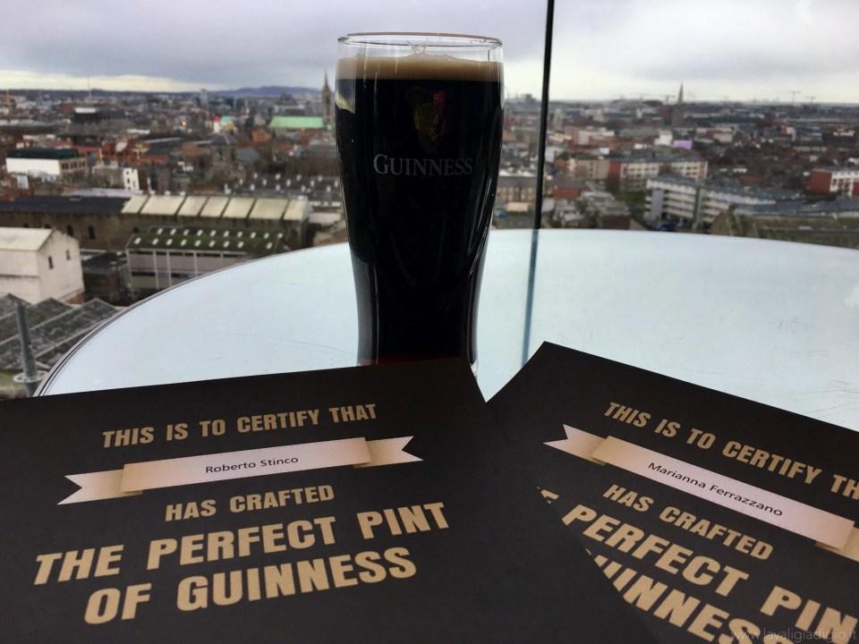 Guinness storehouse gravity bar - panoramico