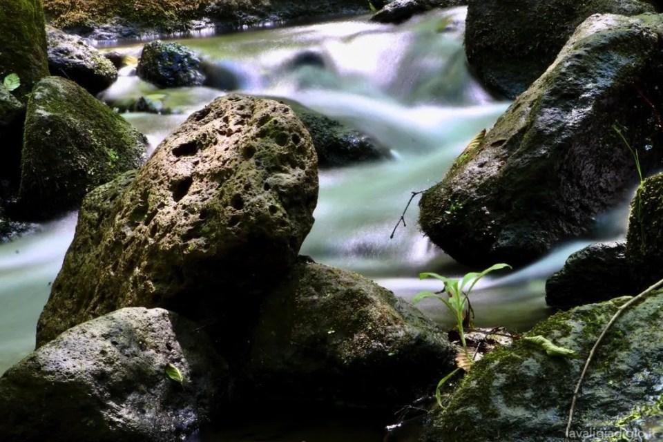 cascate di monte gelato - acqua