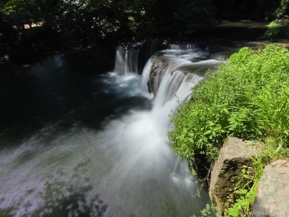 cascate di monte gelato - salto del fiume