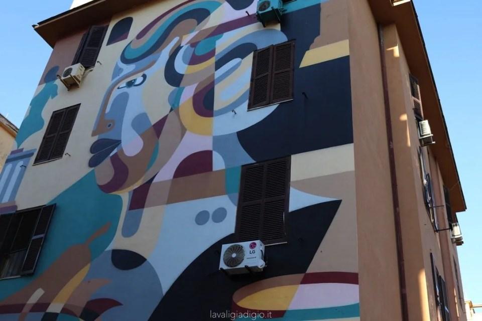 murales di Tor marancia natura morta