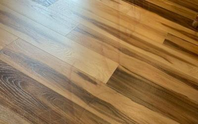 Cali Vinyl Mute Step Huntington Hickory Waterproof Flooring