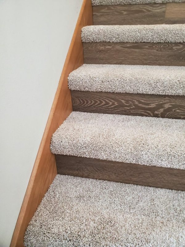 Carpet Flooring Installation on Stairs Fargo North Dakota