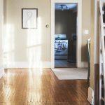 Apartment Hardwood Flooring Scene