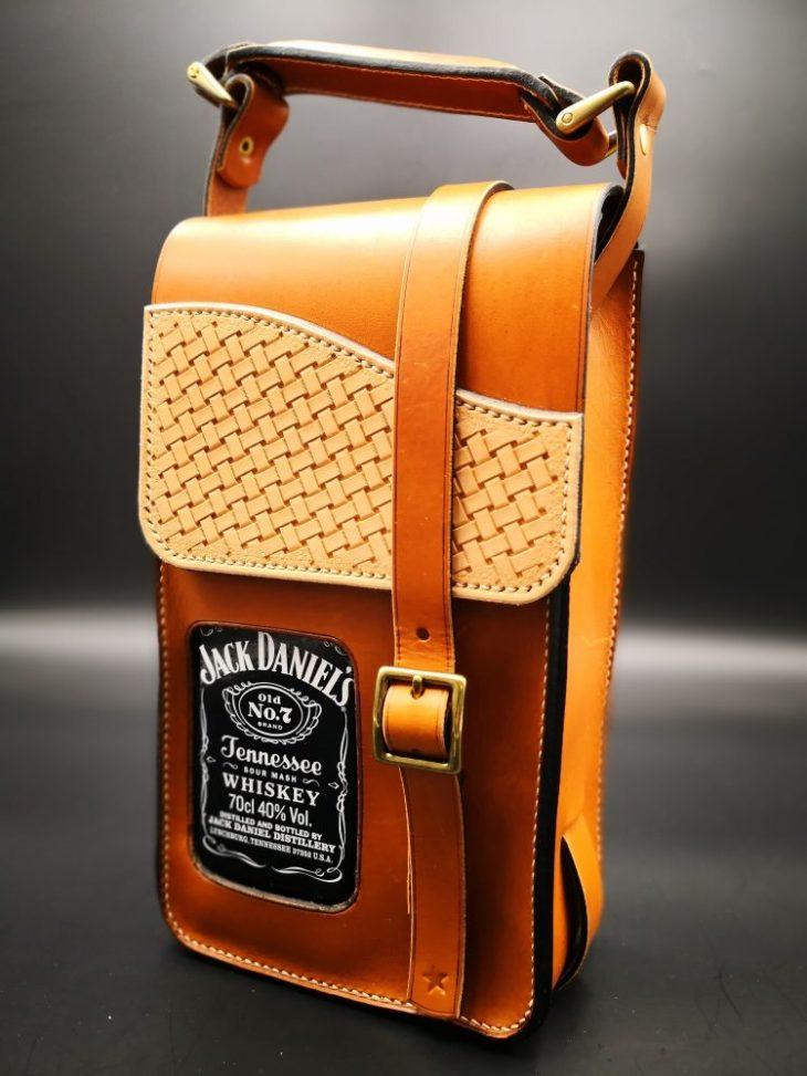 sacoche pour Jack Daniel's