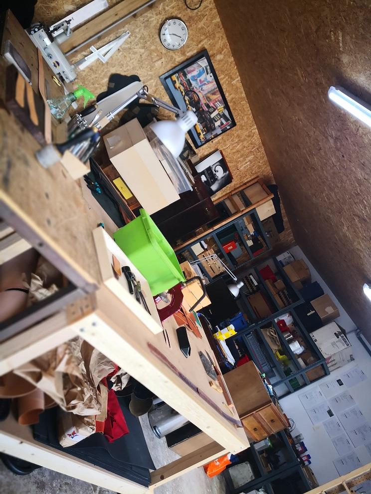 atelier du maroquinier malletier à honfleur