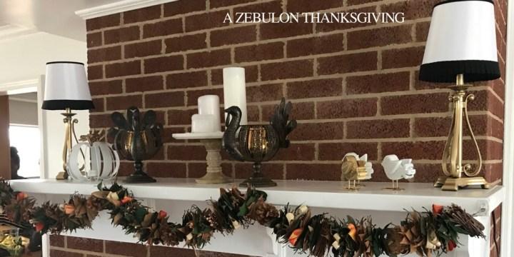 A Zebulon Thanksgiving