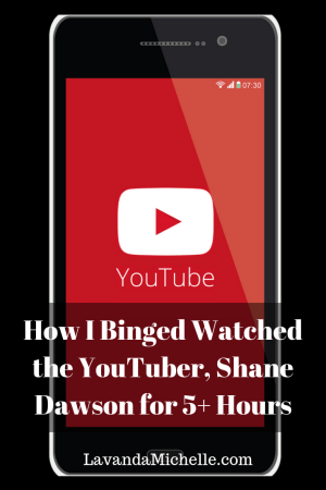 How I Binged Watched the YouTuber, Shane Dawson for 5+ Hours