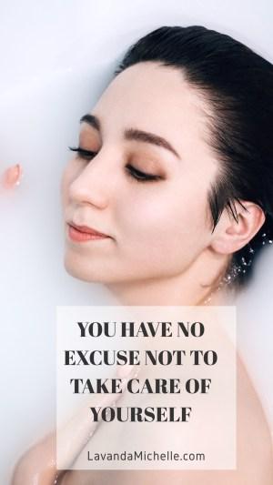 lady in shower lavanda michelle