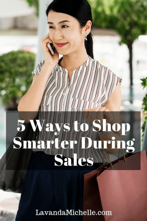 5 Ways to Shop Smarter During Sales