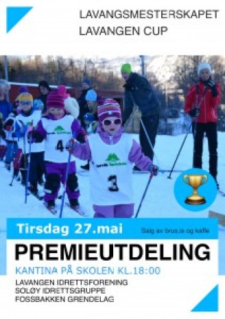 Ski premieutdeling 2014
