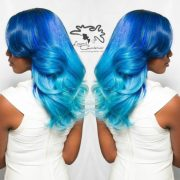 caribbean blue water ombre custom
