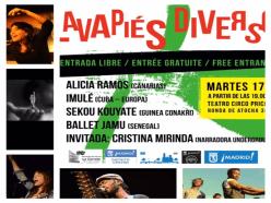 Lavapiés Diverso 2015 | Cartel concierto | Teatro Circo Price | 17/11/2015 | Lavapiés - Madrid
