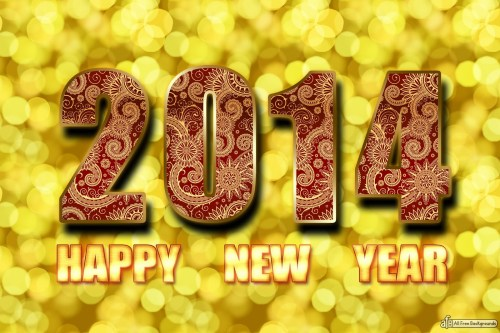 Happy New Year 2014 Wallpaper Free Downloadwww.allfreebackgrounds.blogspot.com