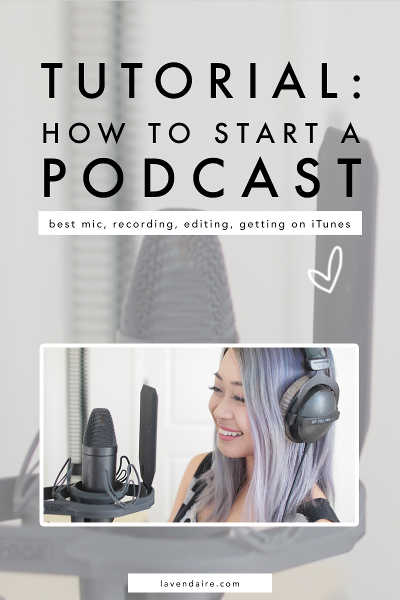 Podcast tips | How to start a podcast | podcasting | podcast tutorial | record a podcast | get on iTunes