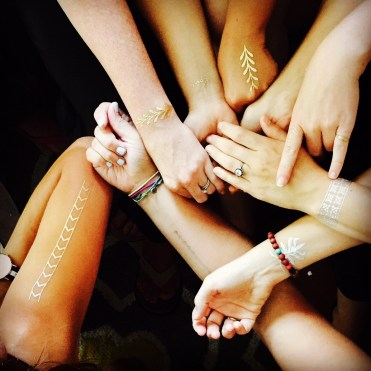 Flash Tattoos - Gold and Silver