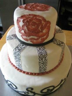 Monogram Cake