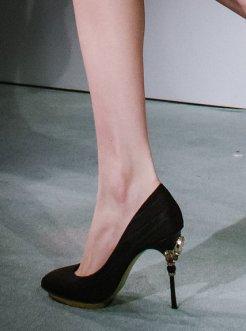 Emebellished heels