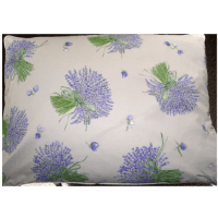 Lavender and Buckwheat Filled Standard Size Pillow ...