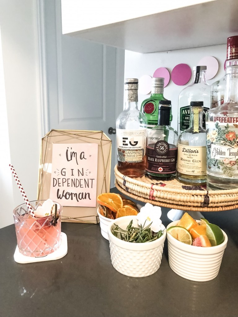 Gin and Tonic Bar DIY