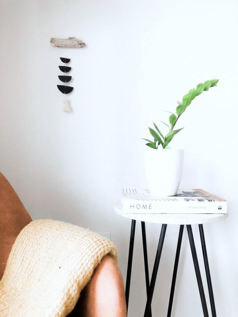 DIY Minimalist Boho Wall Hanging