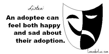 The Happy/Sad of Adoption