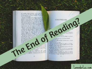 The end of reading as we knew it.