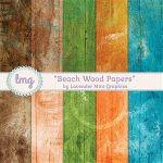 New Releases – Boho Bokeh and Beach Wood Paper Packs