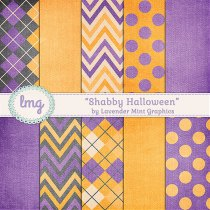 Halloween Digital Scrapbook Paper