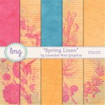 """Spring Linen"" Paper Pack Release"