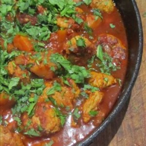 Chicken Ball Curry