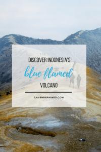 Kawah Ijen, Blue Flamed, Java, Indonesia