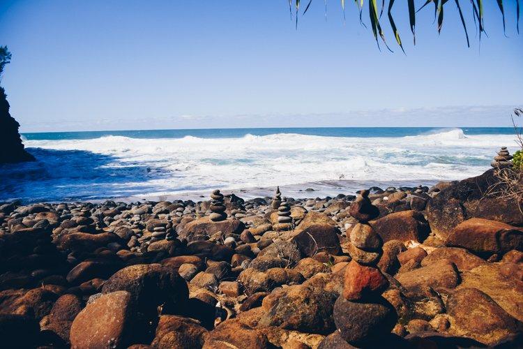 Hanakapi'ai Beach - Hike Na Pali Coast Kauai