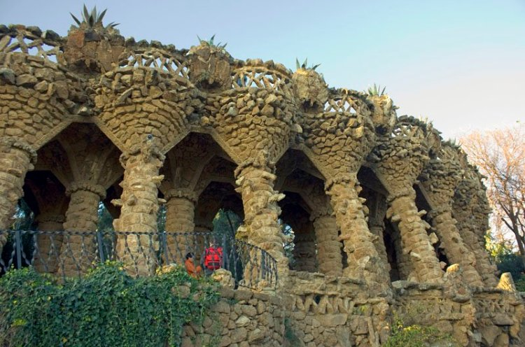 Bird's nests - The Ultimate Guide to Antoni Gaudi's Park Guell