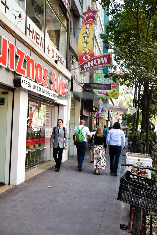 Colonia Juarez - Zona Rosa - Mexico City's Trendiest Neighborhoods