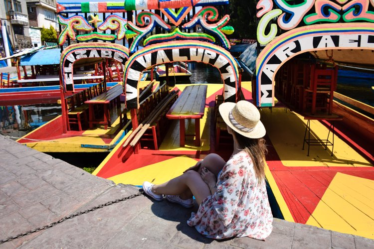 Xochimilco Gondola Ride - 20 Photos Inspire You to Visit Mexico City, Mexico