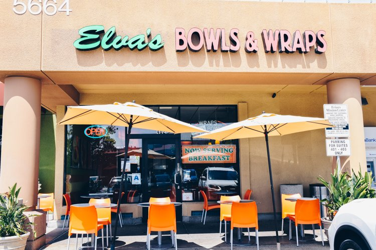 Elva's Bowls and Wraps - Best Places to Eat in San Diego