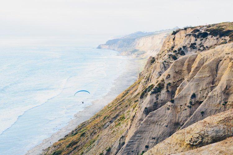 San Diego Bucket List - Torrey Pines Cliffs
