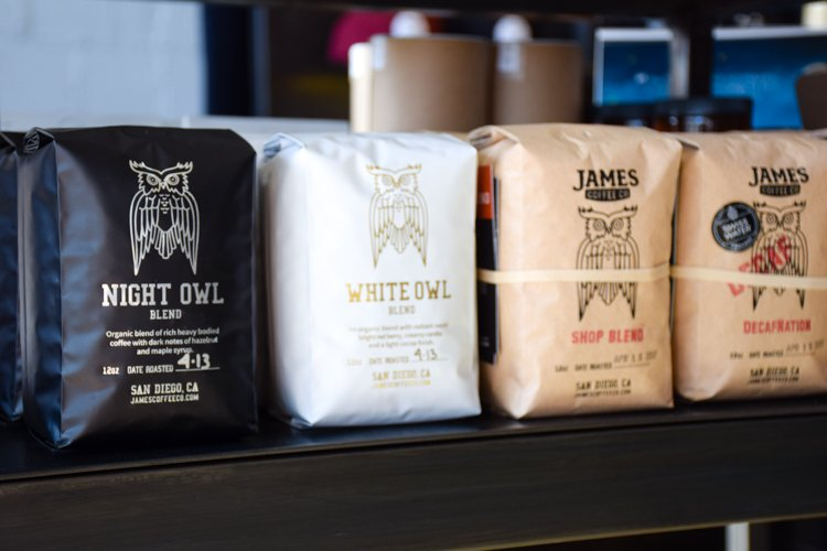 Best San Diego Coffee Shops - James Coffee Co