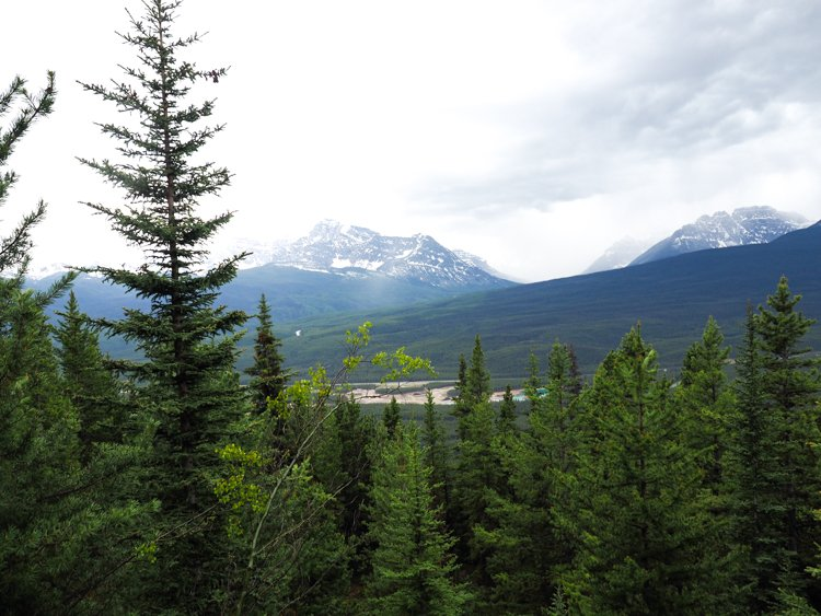 Castle Mountain Lookout chalet and Castle Mountain Lookout campground