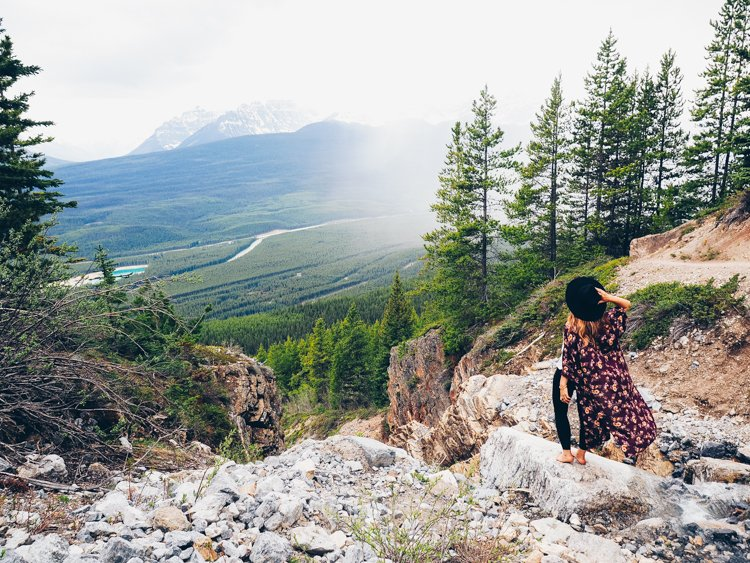 Castle Mountain Lookout, Banff National Park, hike