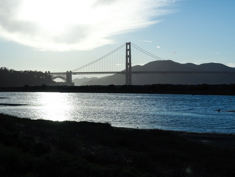 Crissy Field - Best places to photograph golden gate bridge at sunset