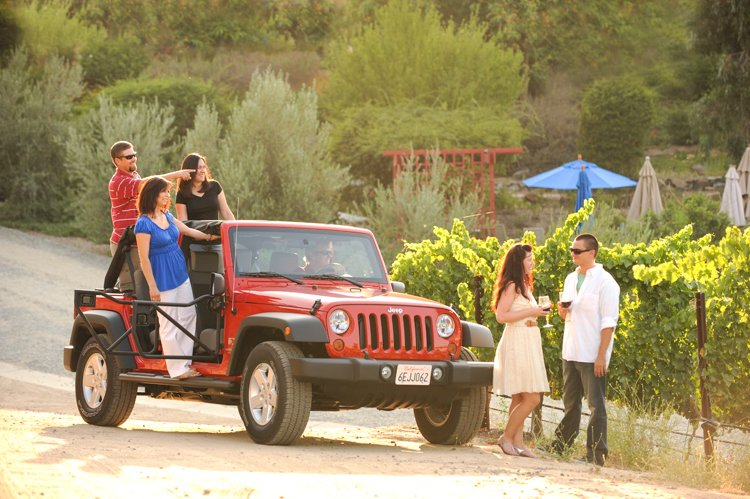 Jeep Tour - Temecula Valley Wineries