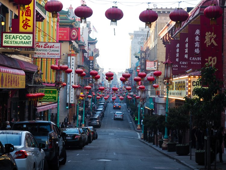 Chinese Lanterns - Chinatown - 48 Hours in San Francisco