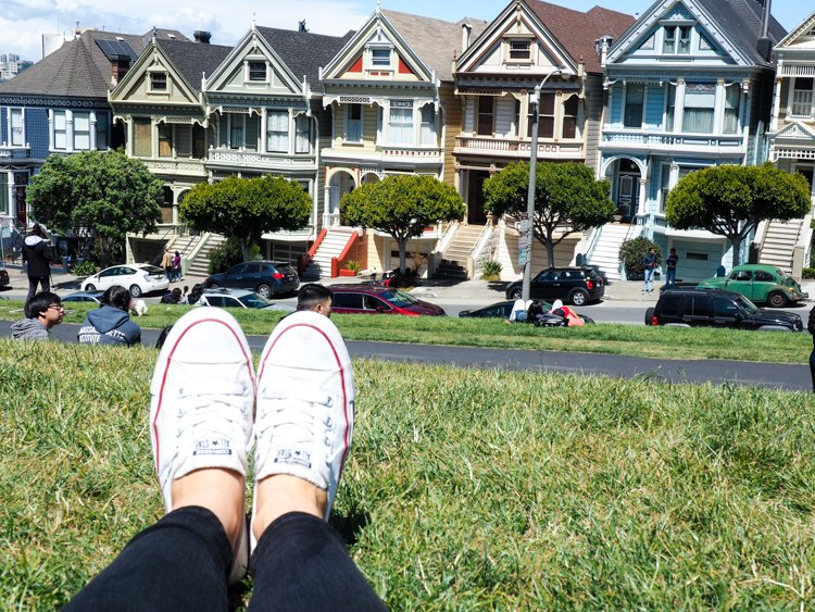 Alamo Square/Painted Ladies - 48 Hours in San Francisco