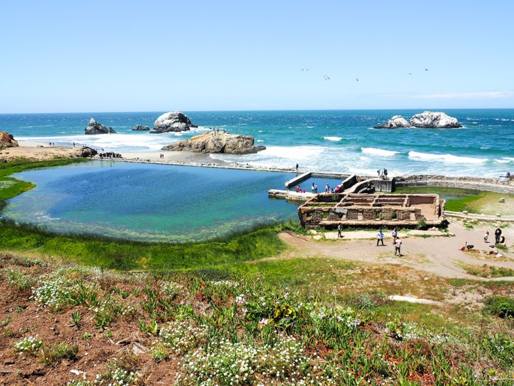 Sutro Baths - 48 Hours in San Francisco