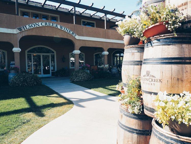 Wilson Creek Winery - Temecula Valley Wineries