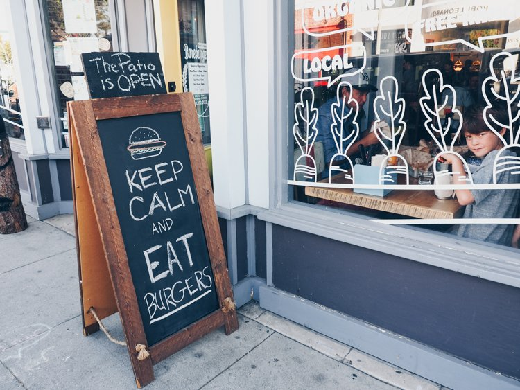 Bare Burger - Main Street - Ultimate Guide to Venice Beach