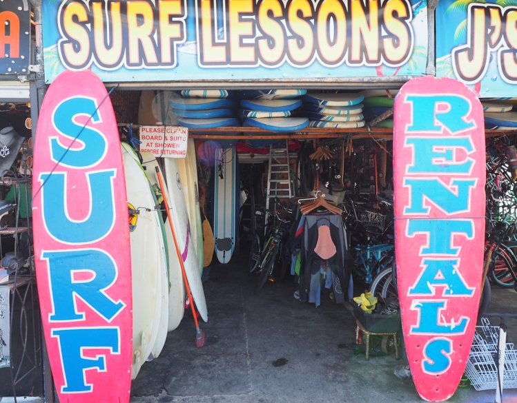 Surf Lessons - Venice Beach Boardwalk